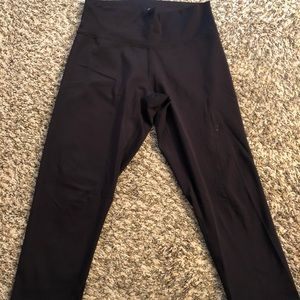 Crop athletic tights from Adidas